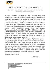 COMUNICATO_FEDERTAXI_catalano_ritira_emendamento_06-10-2005